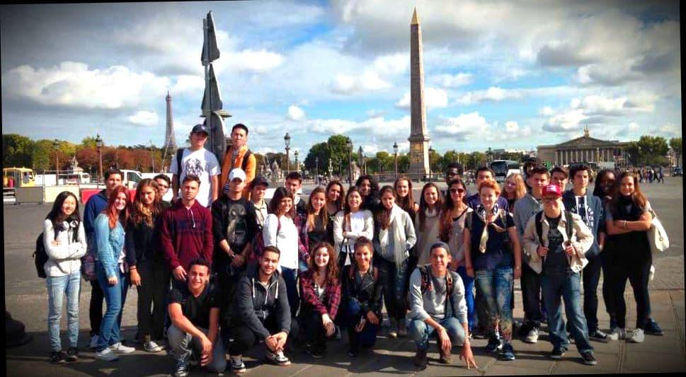 Студенты выпускники из французского вуза