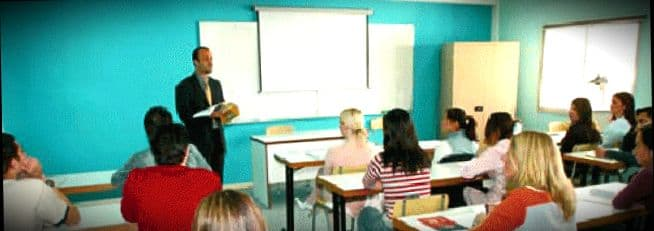 Урок в среднее школе на Кипре