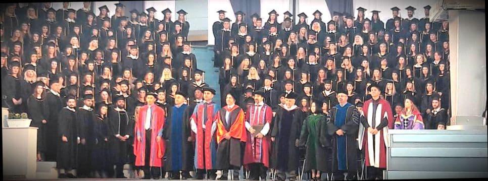 Кипиотские магистры на вручении дипломов