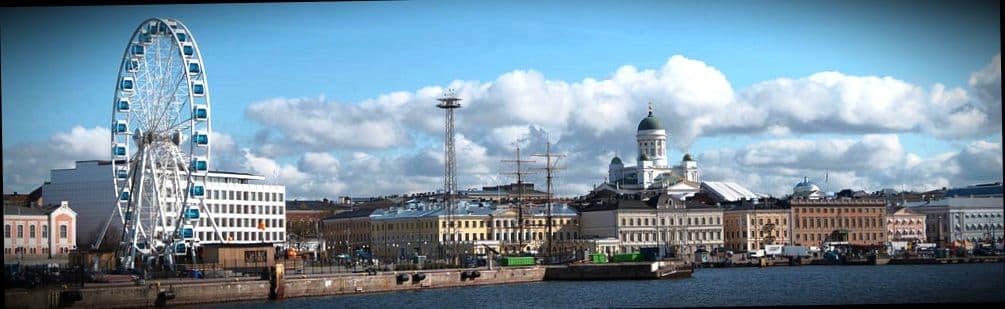 Хельсинки столица Финляндии, где очень много школ