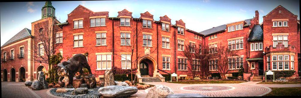 Канадский Ridley College, в котором можно пройти подготовительные курсы