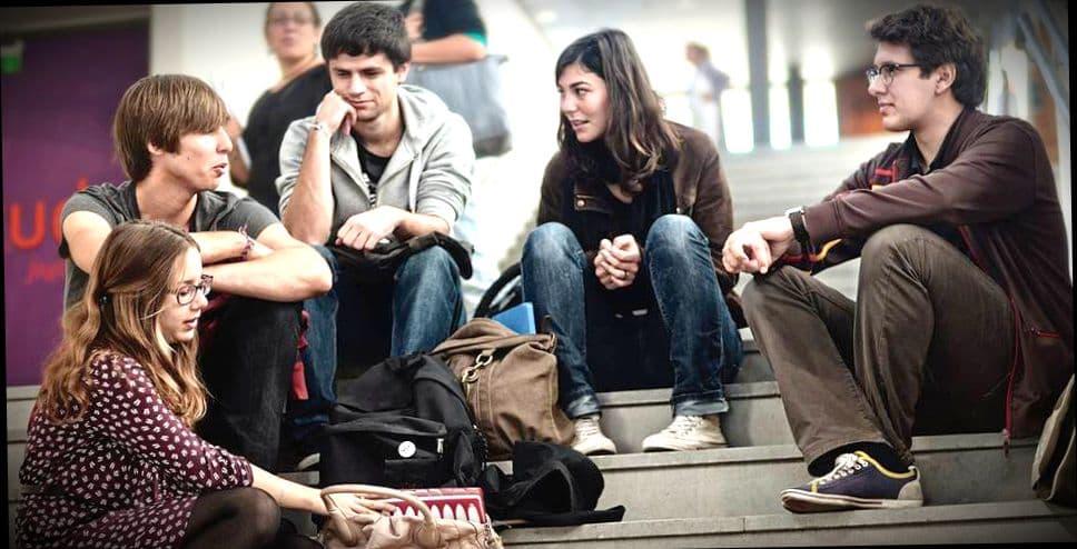 Студенты университета Høgskolen i Oslo og Akershus в Осло