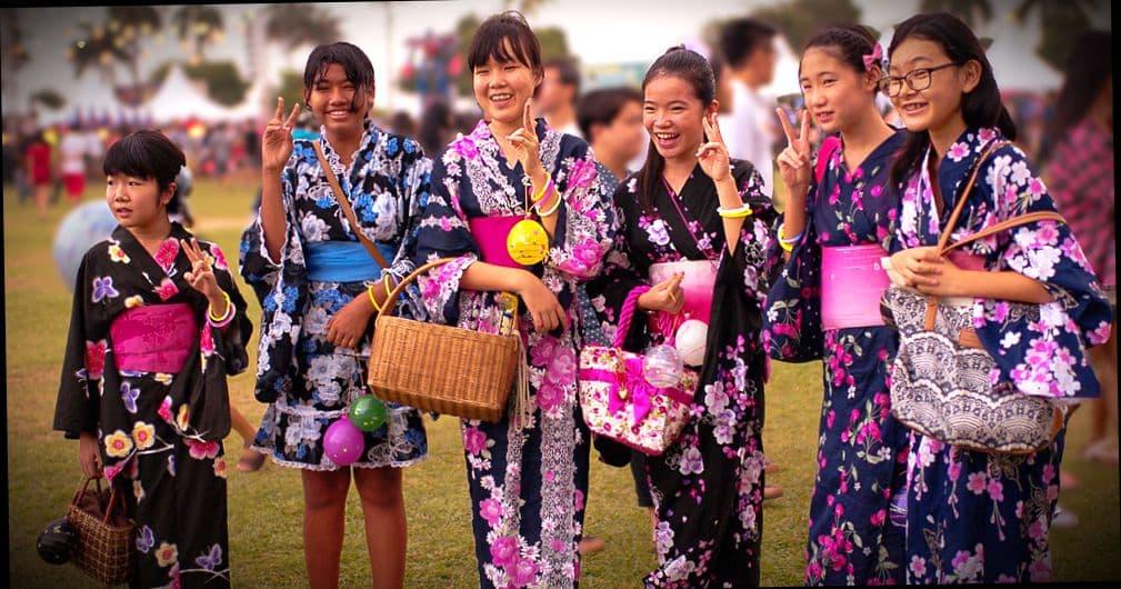 Японские студенты, которые обучаются в государственном вузе