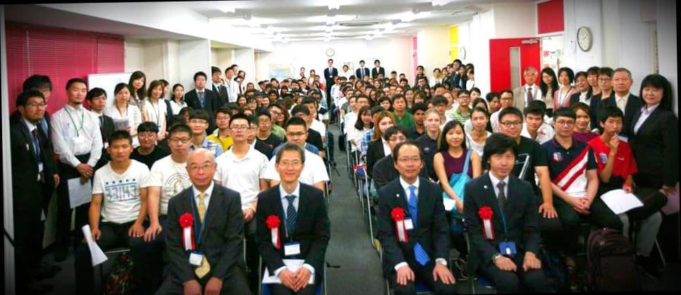 Выпускники японского университета