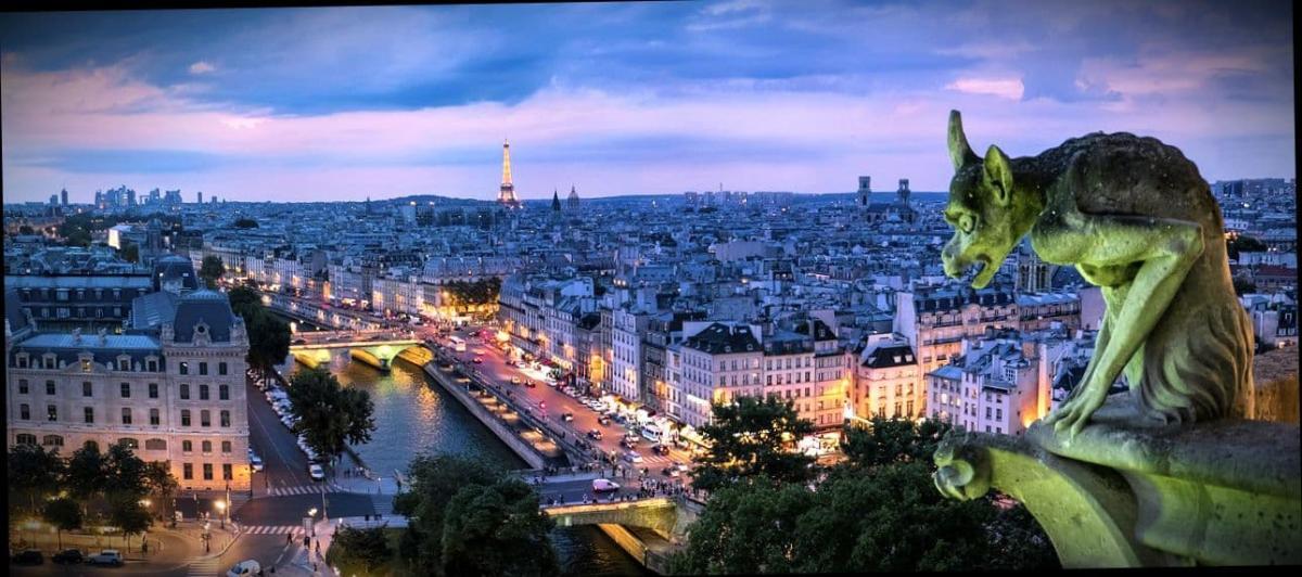 Изучение языка в столице Франции Париже