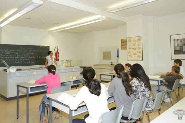 Занятия в Institut Monte Rosa в Монтрё