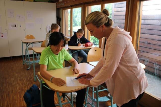 Занятия в школе Pre Fleuri 2