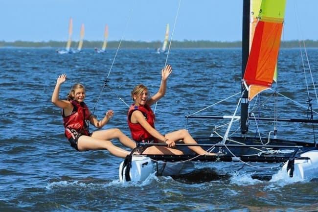 Спортивные мероприятия на море в Pre Fleuri