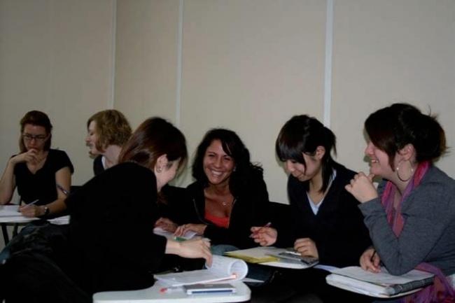Французский язык в Париже Accord школа