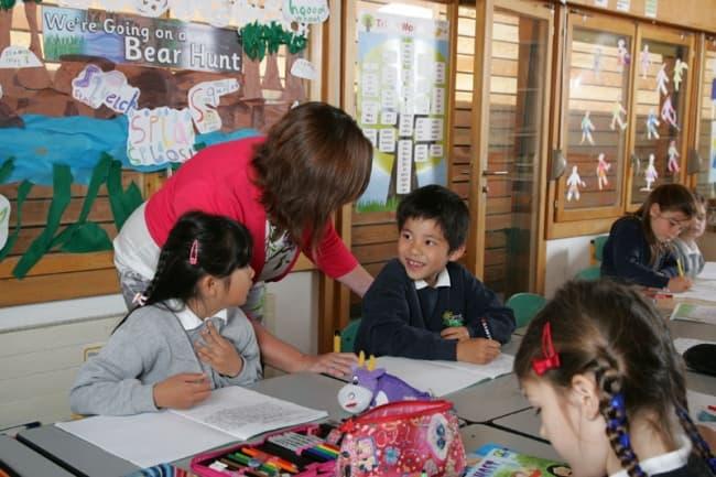 Занятия в школе Pre Fleuri