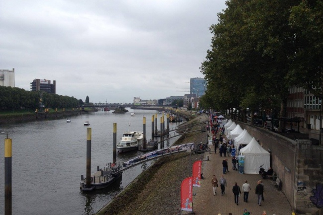 Jacobs University в Германии вид на реку