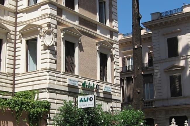DILIT International House здание школы в Риме