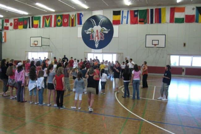 Leysin American School занятия спортом