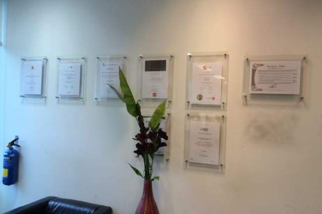 Сертификаты LSBF в Сингапуре