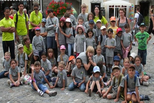 Швейцария летние курсы английского в школе Pre Fleuri (Виллар)