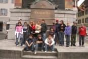 Школа-пансион в Швейцарии Institut Monte Rosa в Монтрё для детей от 8 до 19 лет фото