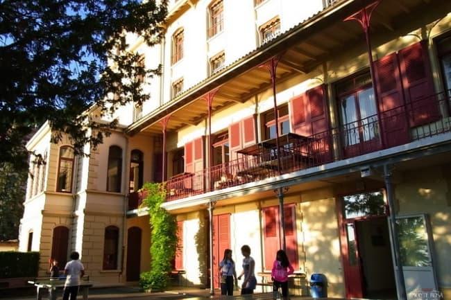 Institut Monte Rosa в Монтрё школа иностранных языков