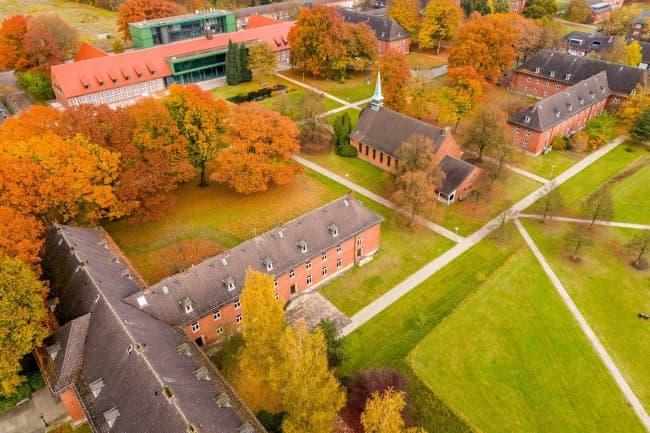 Jacobs University в Германии в высоты птичьего полета