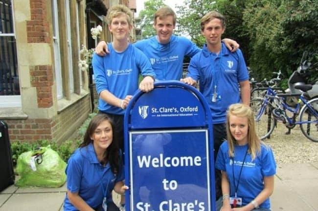 St. Clare's колледж английский язык