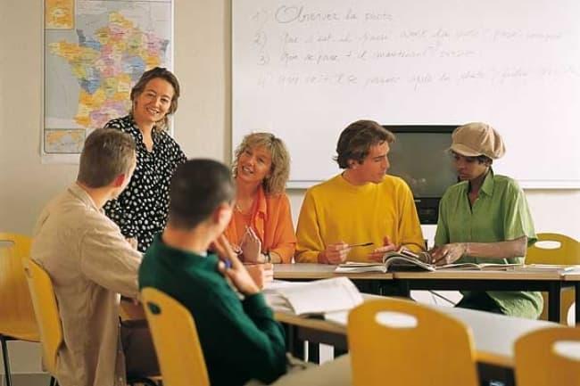 Французский язык во Франции Centre International D'Antibes