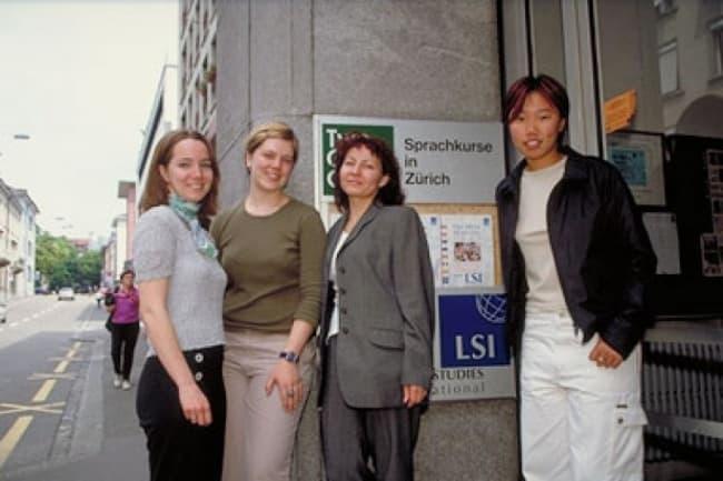 Немецкий язык в школе LSI в Цюрихе