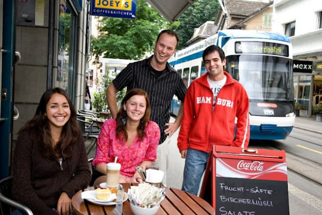 Курсы немецкого языка в Цюрихе