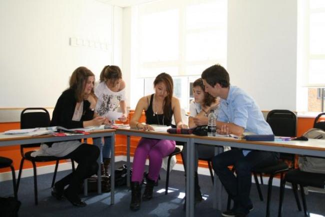 Курсы английский язык Лондон EC школа