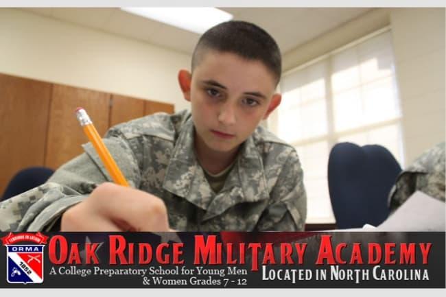 The Oak Ridge Military Academy США