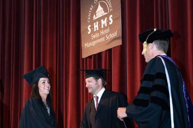 The Swiss Hotel Management School - SHMS выпускники