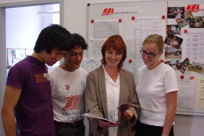 Курсы по изучению немецкого языка в школе DID