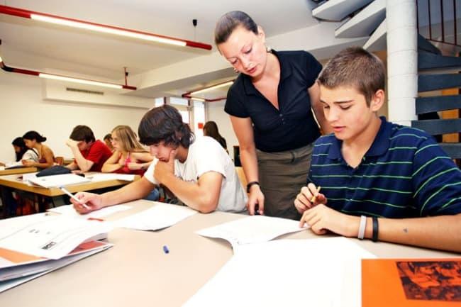 Французская школа ESL в Швейцарии