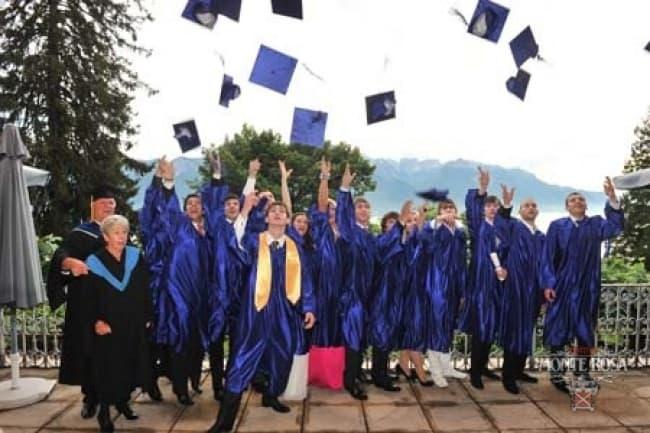 Швейцария средняя школа Institut Monte Rosa в Монтрё