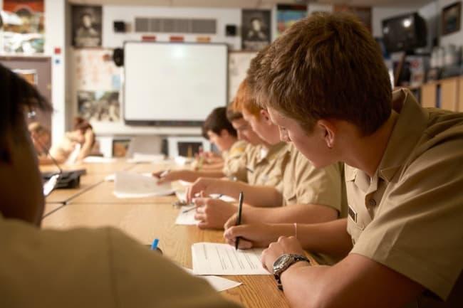 Среднее образование в Америке в Admiral Farragut Academy