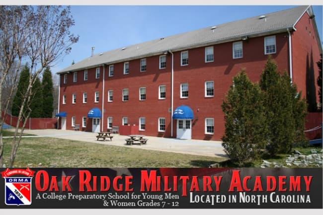 USA The Oak Ridge Military Academy образование в Америке