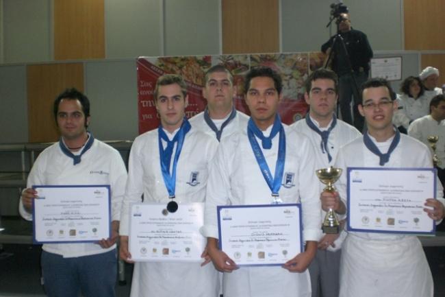 Выпускники школы Alpine Centre в Греции