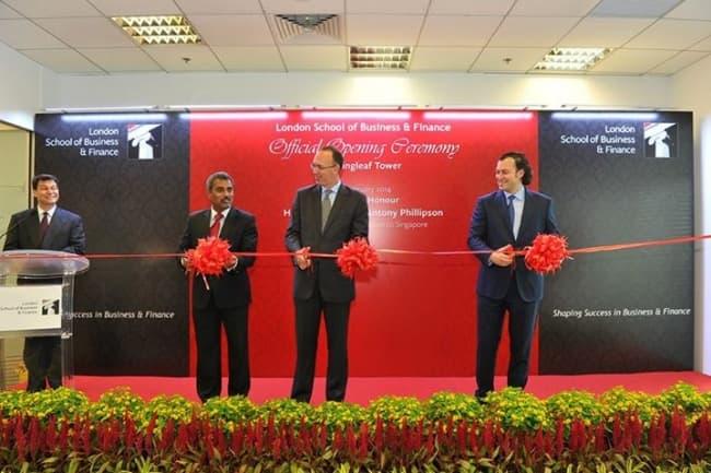 Открытие LSBF в Сингапуре