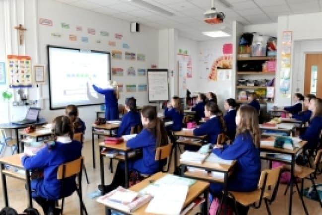 Среднее образование для школьников в Ирландии