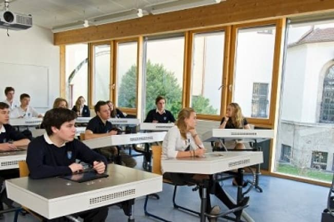 Среднее образование немецкий язык Schloss Neubeuern