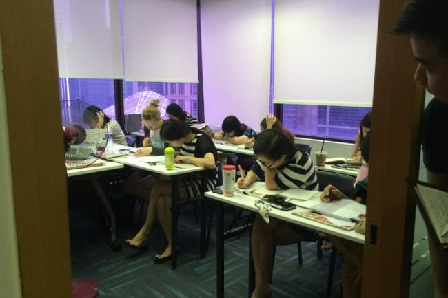 Занятия LSBF в Сингапуре