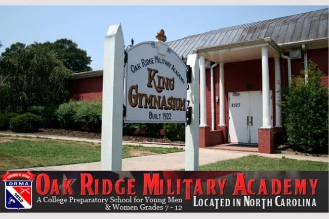 Образование в США в The Oak Ridge Military Academy