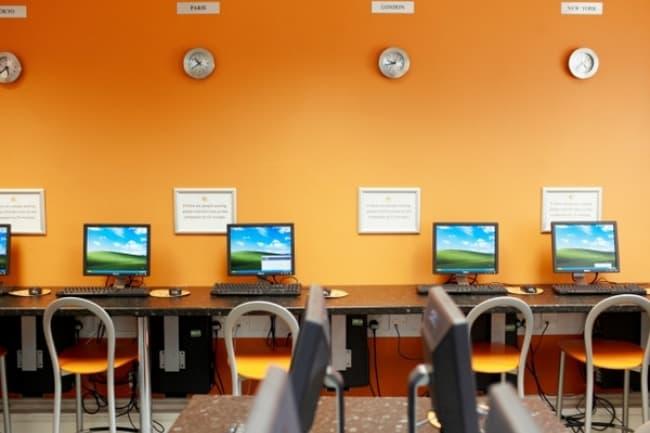 Компьютерный класс курсы английского в EC cambridge
