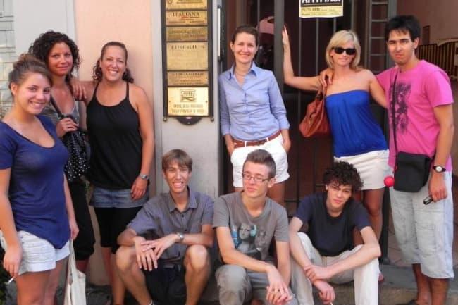 Итальянский язык в Италии Tiberius International школа