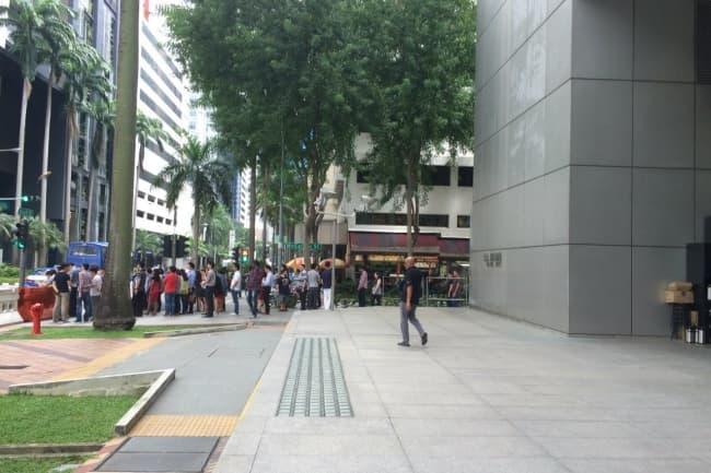 Вход в LSBF в Сингапуре