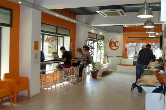 Студентам курсы английского языка на Мальте