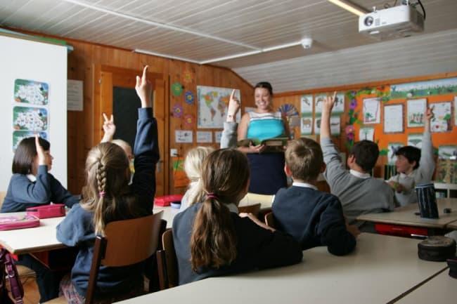 Занятия в школе Pre Fleuri 3