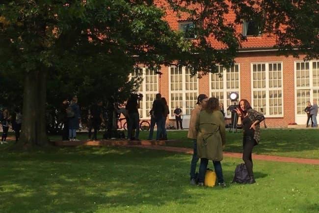 Jacobs University в Германии вид снаружи