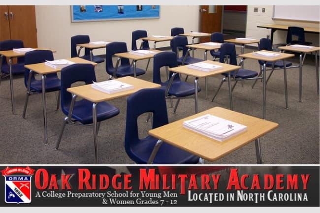 The Oak Ridge Military Academy подготовка к поступлению в колледжи в Америке