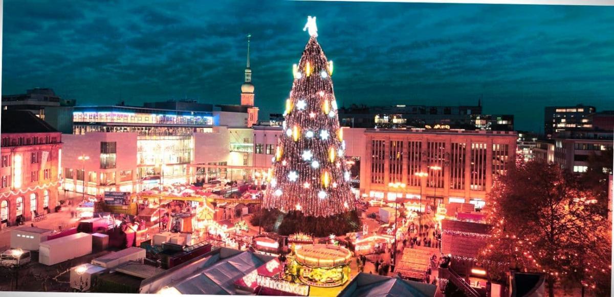Рождество в городе.