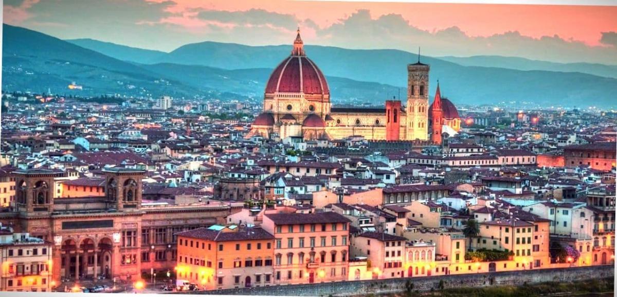 Вечерняя Флоренция.