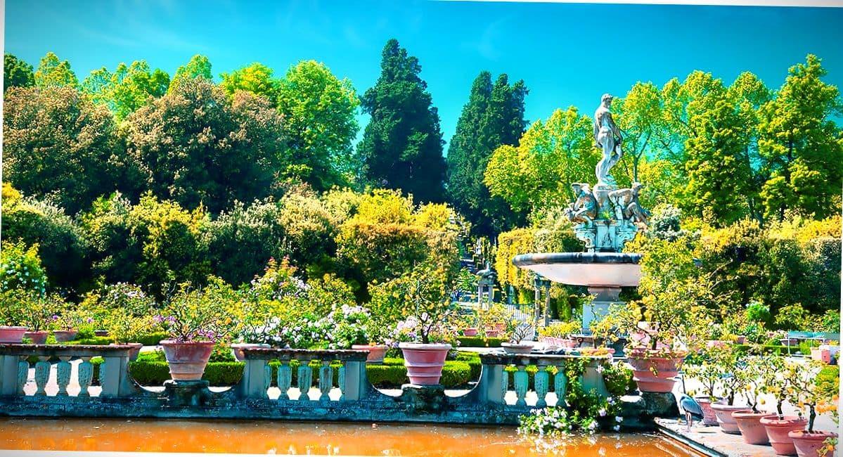 Сады Флоренции.